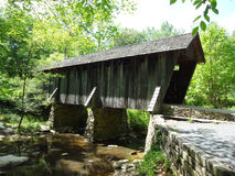 Covered Wooden Bridge Royalty Free Stock Image