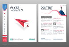 Covers book design template vector, Business engineering concepts, Use for brochure, annual report, flyer leaflet, magazine Royalty Free Stock Images