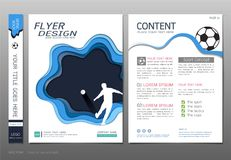 Covers book design template vector, Business engineering concepts, Use for brochure, annual report, flyer leaflet, magazine Royalty Free Stock Image