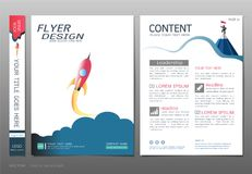 Covers book design template vector, Business engineering concepts, Use for brochure, annual report, flyer leaflet, magazine Stock Photography