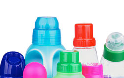Covers of Cleaning Products Stock Photography