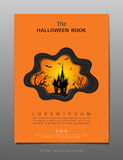 Covers design template, Inspiration for halloween night concept Royalty Free Stock Photo