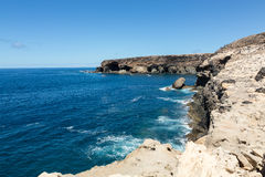 Coves and caves in Ajuy, Fuerteventura, Stock Photos