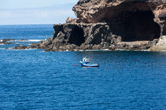 Coves and caves in Ajuy, Fuerteventura, Stock Photography