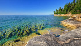 The Coves - Lake Superior, Upper MI Royalty Free Stock Photography