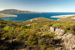 Coves near Ustrine Royalty Free Stock Images