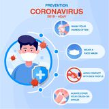 Coronavirus and covid-19 outbreaking vector