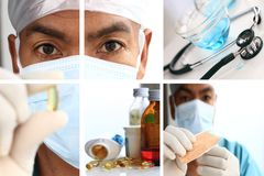 COVID-19 Coronavirus  Pandemic Outbreak With Scientist Stock Photo Stock Images