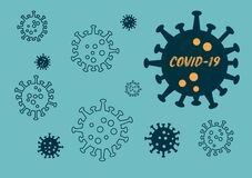 Covid-19 or Corona Virus Outtbreak Background