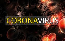 Covid-19 Coronavirus abstract wallpaper