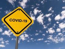 Covid 19 traffic sign