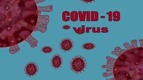 COVID-19 is a viral epidemic. Antivirus concept.