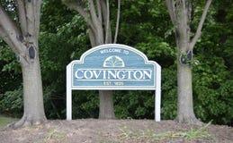 Covington,在1825年田纳西Estblished 库存照片