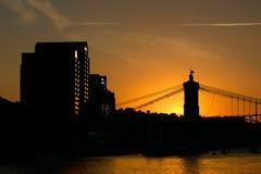 covington ηλιοβασίλεμα του Κε&n Στοκ εικόνες με δικαίωμα ελεύθερης χρήσης