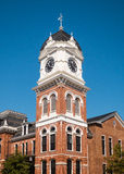 Covington Clock Tower Royalty Free Stock Photography