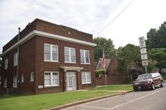 Dunham Masonic Lodge, Covington, TN. Covington Masonic Lodge of Free and Accepted Mason number 150, Covington, TN stock photos