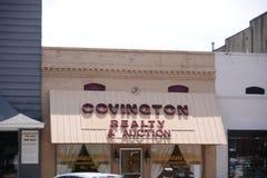 Covington Realty i aukcja, Covington, TN zdjęcie stock