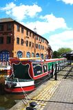 Covnetry Canal Basin. Stock Image