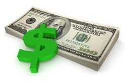 Covone dei dollari #4 Fotografia Stock