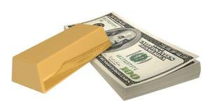 Covone dei dollari #5 Fotografia Stock Libera da Diritti