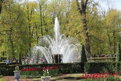 Covone della fontana Fotografie Stock