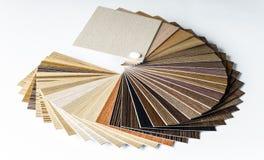 Covone di legno sottile dei campioni Fotografie Stock