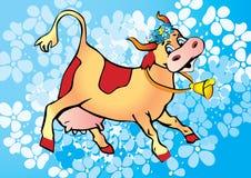 Cow. Stock Photo