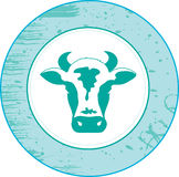 Cow. Element for design  illustration Royalty Free Stock Photography