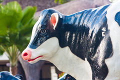 Cow. The cow it is mammal, and live is around the world Royalty Free Stock Images