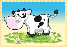 Cow. Vector Image, software: Illustrator Stock Image