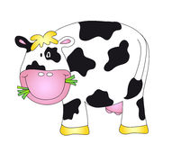 Cow. Illustration of a nice cartoon cow Royalty Free Stock Image