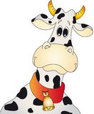 Cow. An illustration of cartoon cow Stock Photo