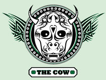 The cow Royalty Free Stock Images