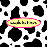 Cow background Royalty Free Stock Image