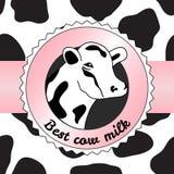 Cow background Stock Photos