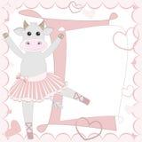 Cow ballet dancer Stock Photography