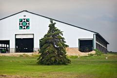 Cow Barn Royalty Free Stock Photo