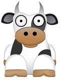Cow with big eyes Chinese New Year Animal Stock Photo