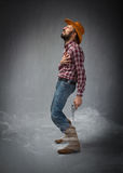 Cow boy death Royalty Free Stock Images