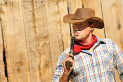 Cow boy spirit Royalty Free Stock Photo