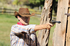 Cow boy spirit Royalty Free Stock Photos