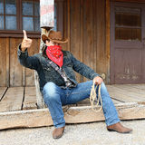 Cow boy spirit Royalty Free Stock Images