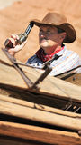 Cow boy spirit Stock Images