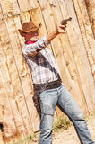 Cow boy spirit Royalty Free Stock Photography
