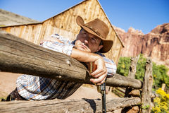 Cow boy spirit Stock Photography