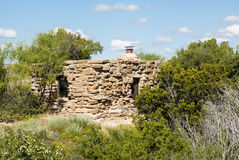 Cow Camp Cabin. In Palo Duro Canyon State Park in Texas Stock Images
