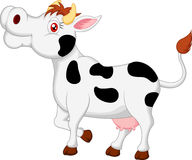 Cow cartoon character Stock Image