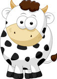 Cow cartoon character Stock Photography
