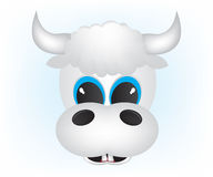 Cow cartoon illustration Stock Photo