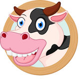 Cow cartoon or mascot Stock Photos